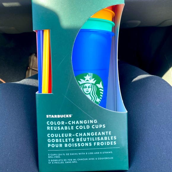Brand New Starbucks Color Changing Cups